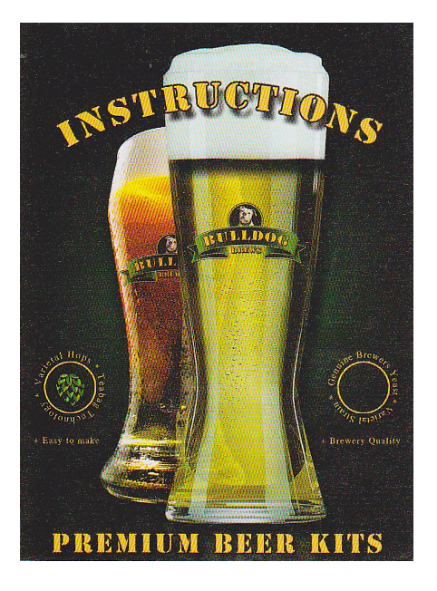 Instructions Bulldog Brew